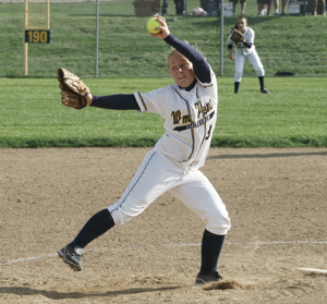 Jennifer Whitehead has won 20 games with 162 strikeouts