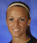 Melisa Wink scored her second goal of the year with 1:04 left in the game