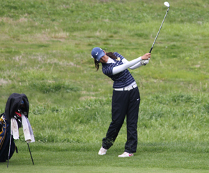Maggie Yang tied for third to earn all-MCC Tournament honors