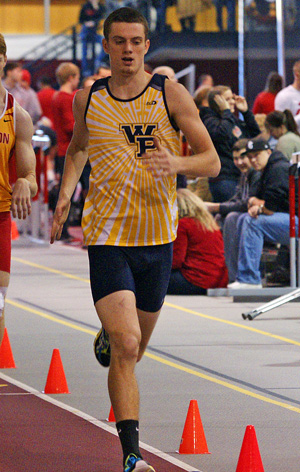 Sam Taylor was runner-up in the decathlon with 5,459 points