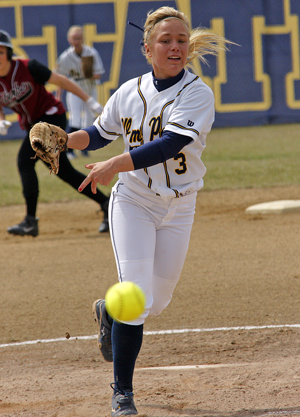 Jennifer Whitehead led the MCC in most pitching categories this year