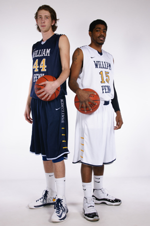 Keith Steffeck (left) and Brandon Beasley (right) were both First-Team All-Americans in 2013
