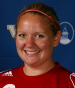 Laura Gentry had five saves off the bench