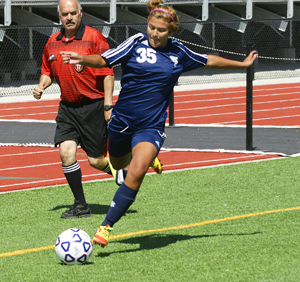 Sylvia Munoz scored three goals with five assists to receive the laurel
