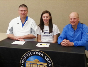 Alexandria Eckenrod was a national qualifier for NIACC as a freshman