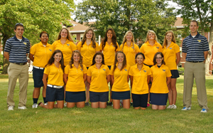 The women's golf team won the MCC title and placed 15th at nationals
