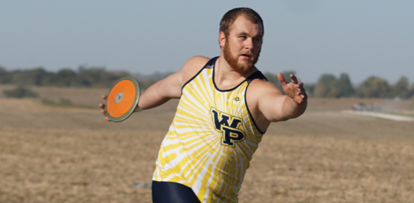 Derek Seddon hit the 'A' standard in the discus at 175-3