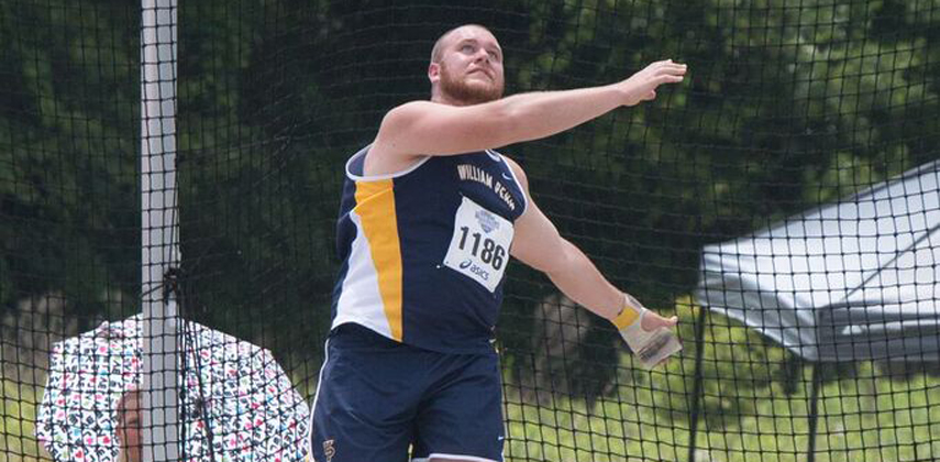Derek Seddon leads the nation in the discus and is eighth in the hammer