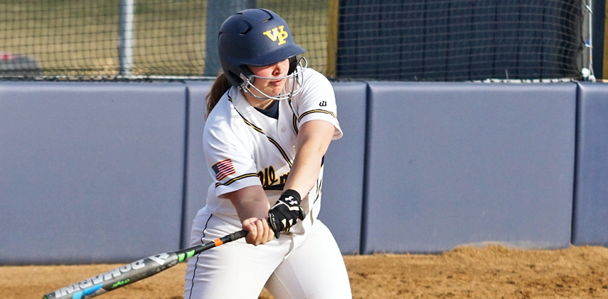 Three of Emily Brown's six hits were home runs