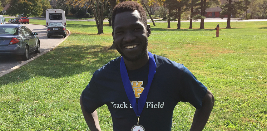 Jamal Boma's title is his third of 2016 and is the second league crown for a WPU runner