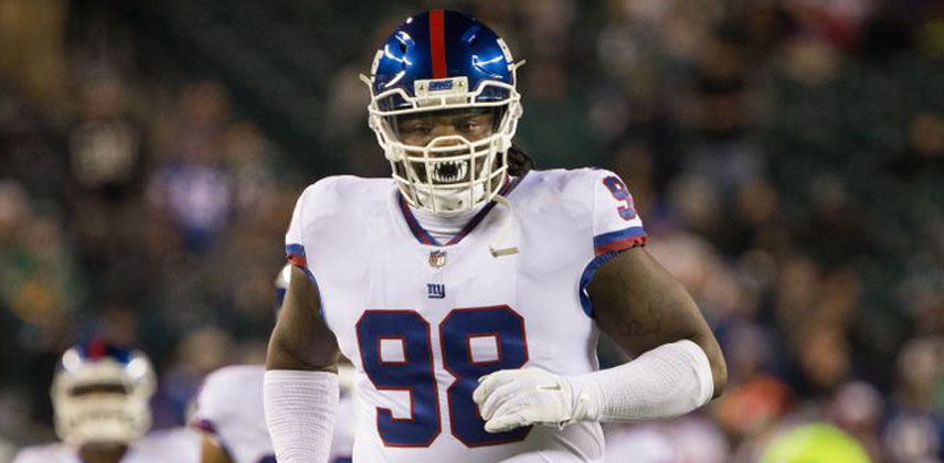 Damon Harrison earned his first All-Pro award