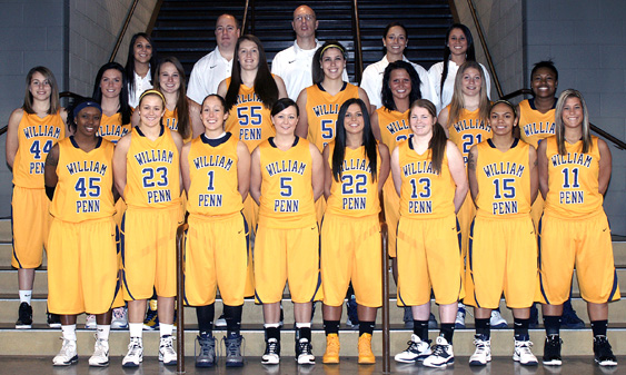 2011-12 Women's Basketball Team Photo